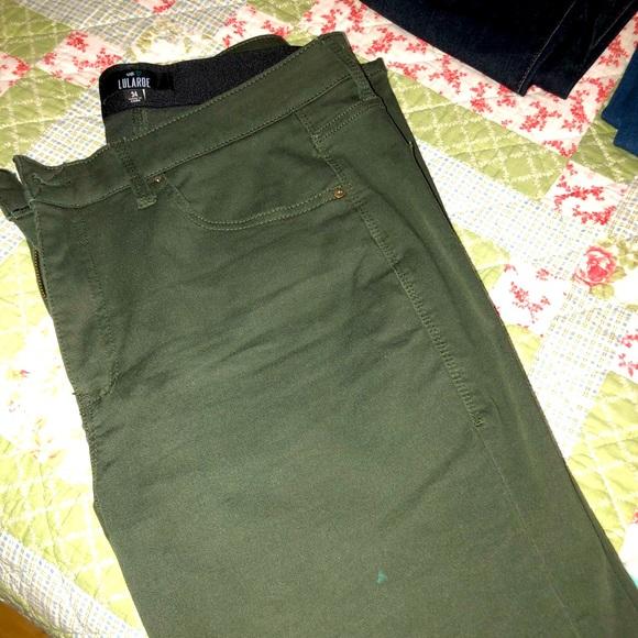 Lularoe denim jeans - green